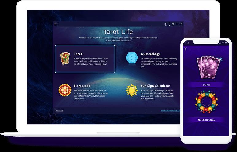 Tarot Life - Free Tarot Reading and Numerology App